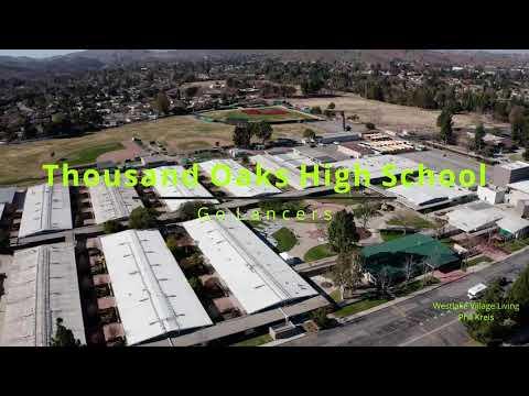 Thousand Oaks High School Drone flyover 2021