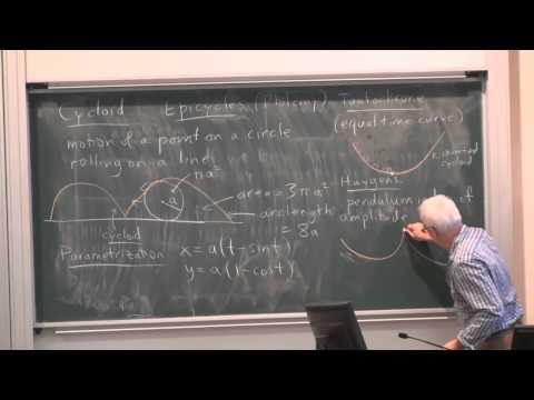 MathHistory14: Mechanics and curves