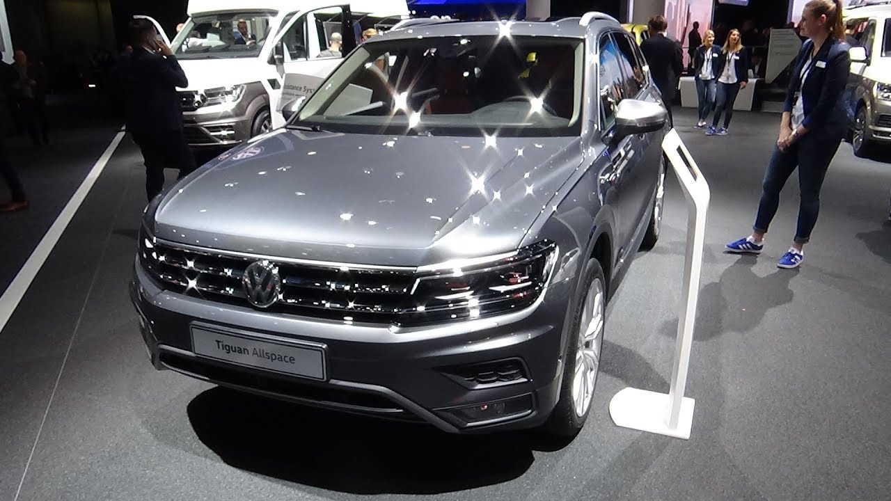 2018 volkswagen tiguan allspace exterior and interior for Interieur tiguan 2017