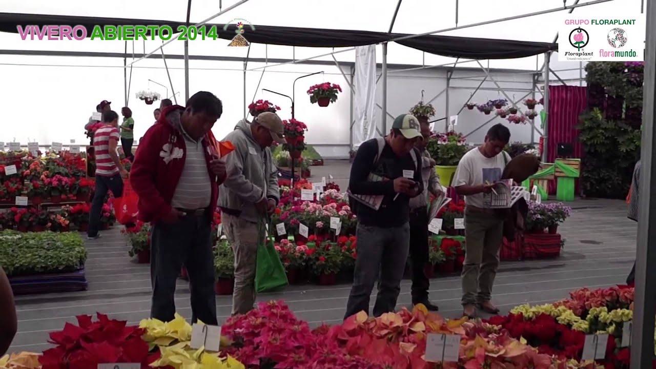 visita vivero abierto 2014 grupo floraplant youtube