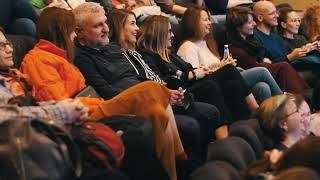 РОМАН ДОЛЖАНСКИЙ на премьере спектакля «Всё о Еве» Иво ван Хове в Центре документального кино