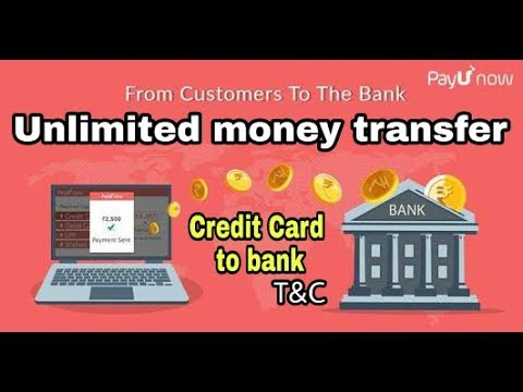 Unlimited Money Transfer Credit Card To