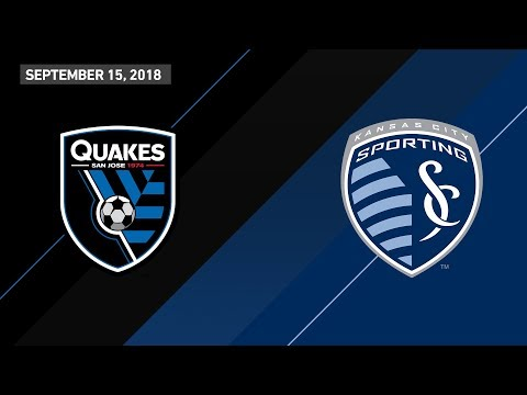 HIGHLIGHTS: San Jose Earthquakes vs. Sporting Kansas City | September 15, 2018