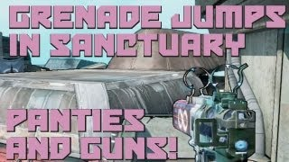 Borderlands 2 - Sanctuary Grenade Jumps and Spots