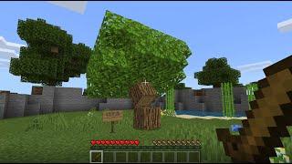 HOW TO MAKE A SECRET UNDERGROUND TREE BASE in Minecraft