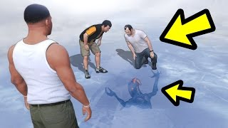 WHAT HAPPENS IF THEY MEET AT THE ALIEN? (GTA 5)
