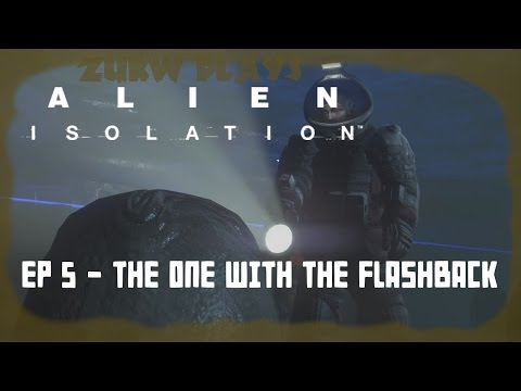 Alien Isolation :: 5 :: The one with the Flashback [Hard mode/PS4]
