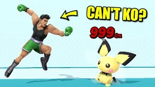 Super Smash Bros. Ultimate - Who Can't KO at 999%?