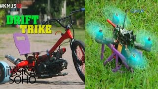 Kapuso Mo, Jessica Soho: Drone racing and tricycle drifting