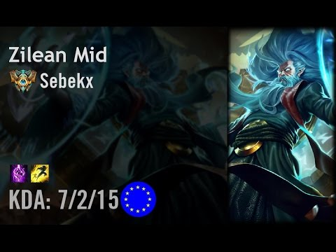 Zilean Mid vs LeBlanc - Sebekx - EUW Challenger Path 6.3