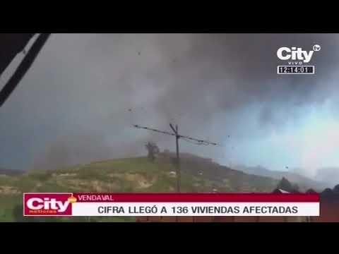 Unas 136 viviendas afectadas por vendaval en el sur de Bogotá | CityTv
