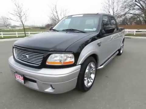 2003 ford f 150 harley davidson for sale orland california r r sales inc chico ca youtube. Black Bedroom Furniture Sets. Home Design Ideas