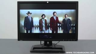 HP ZR2440w 24-inch LED Backlit IPS Monitor Video Review (HD)