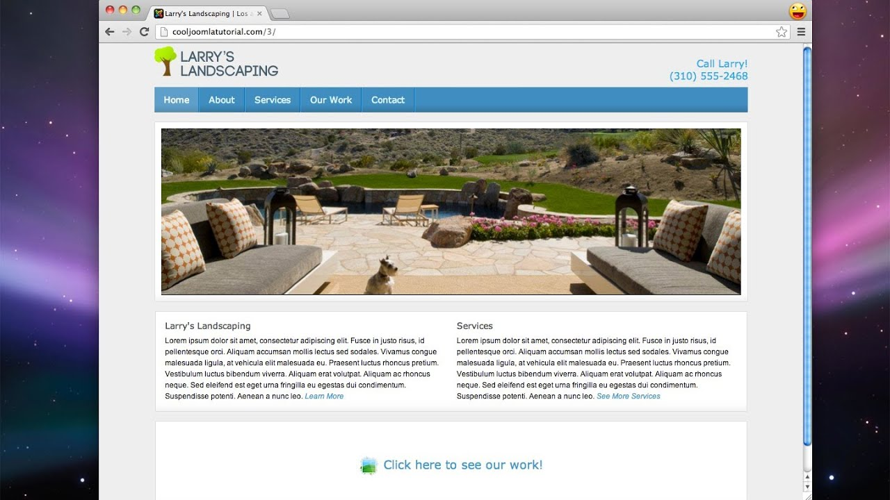 Build a joomla website 2013 easy doovi Build easy website