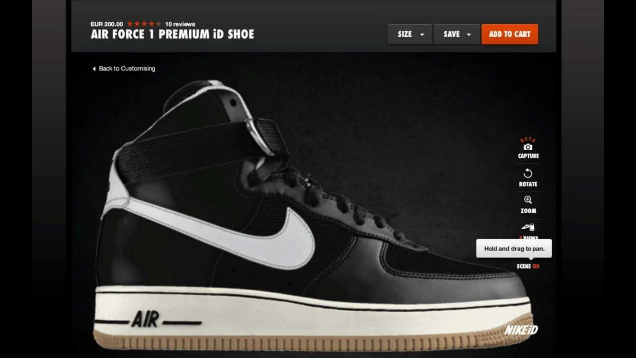more photos e2b1b e011d Nike Air Force 1 Premium iD Wool Opition    2011