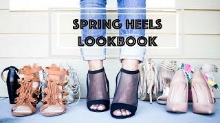 Spring/Summer Heels LookBook 2015