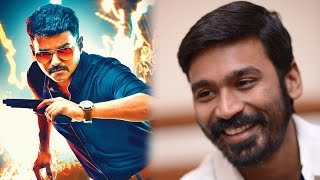 dhanush expresses his feelings about theri to vijay tamil focus