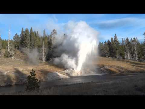Riverside Geyser - Yellowstone National Park - Estados Unidos