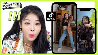 K-POP STAR makes a DANCE CHALLENGE with fans | The Challengers