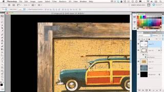 Photoshop - Wood Frame Effect
