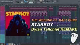 The Weeknd Ft. Daft Punk - Starboy (Original Mix) (FL Studio Remake + FLP)