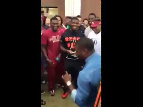 Kevin Hart Visits Florida State Makes Fun of Jameis Winston & FSU Football Team