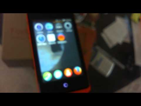 Geeksphone Firefox OS Keon Overview