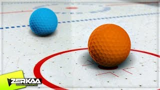 IMPOSSIBLE ICE HOCKEY! (Golf It)