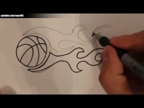 529 MB) Free How To Draw A Basketball Player Step By Step Youtube