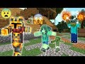 MARK THE FRIENDLY ZOMBIE TURNS EVIL !! MARK BECOMES A TRAITOR IN MINECRAFT !! Minecraft Mods