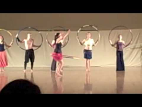 UVM Hoop Dance Performance with Orchesis Dance Com...