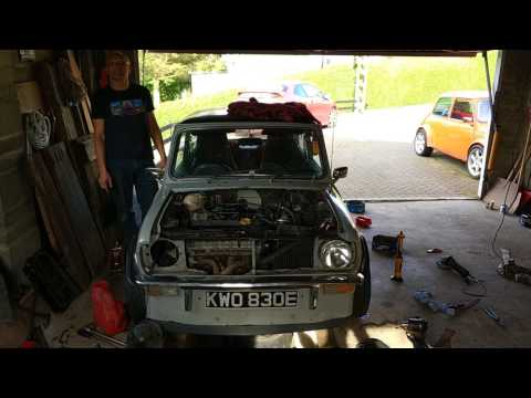 New Rover K series VVC engine fitted in my classic Mini.