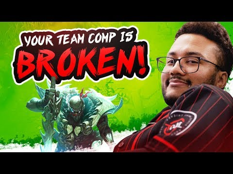 YOUR TEAM COMP IS BROKEN! | APHROMOO