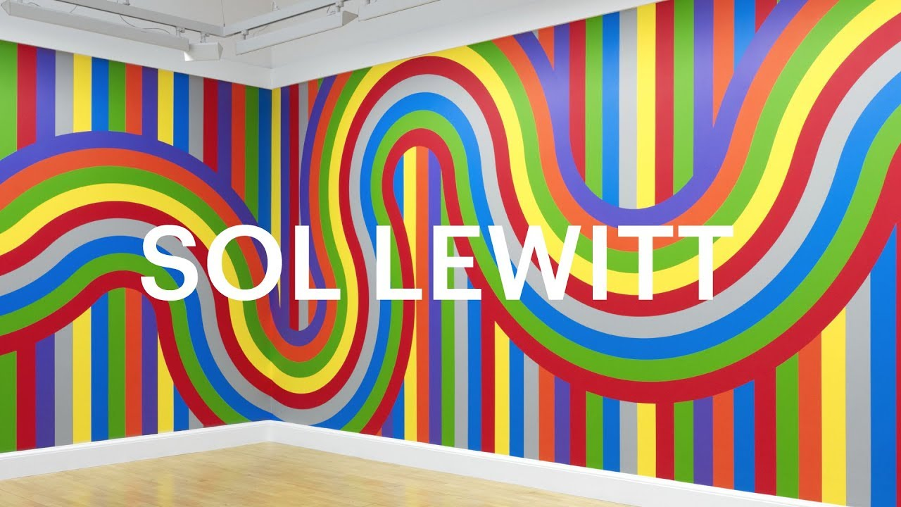 'Wall Drawing #1136' by Sol LeWitt
