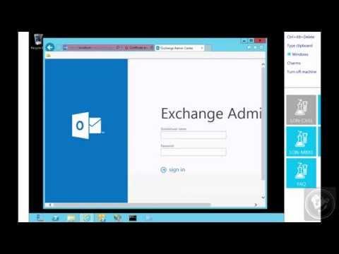 Metodos de Autenticación de OWA/EAC | Exchange 2013