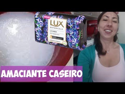 AMACIANTE CASEIRO com