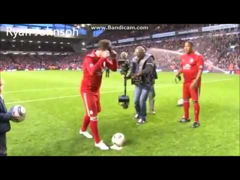 John Barnes v Robbie Fowler | Seeing is believing challenge