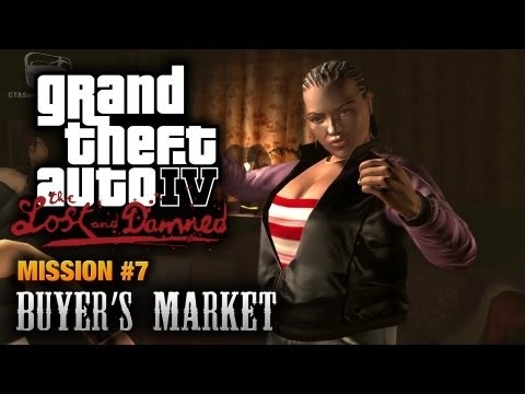 GTA: The Lost and Damned - Mission #7 - Buyer's Market (1080p)
