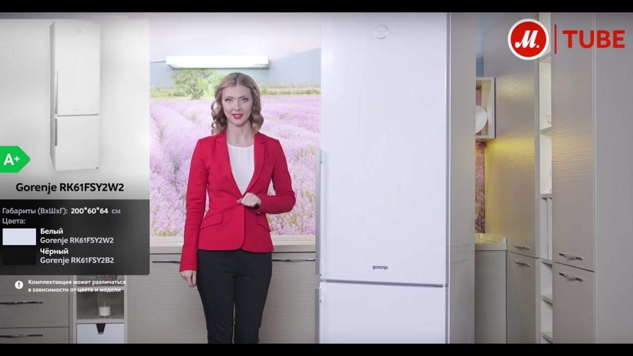 Gorenje NRK 6202 GHW4 - обзор холодильника с NoFrost Plus и Fresh .