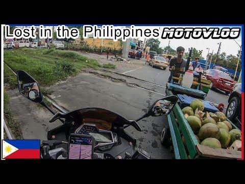 Lost in Metro Manila - MotoVlog
