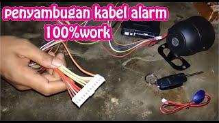 Gambar cover Tutorial Cara Penyambungan Kabel Alarm Mobil Universal