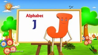 Letter J Song - 3D Animation Learning English Alphabet ABC Songs For children thumbnail