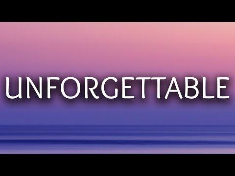 French Montana ‒ Unforgettable (Lyrics / Lyric Video) ft. Swae Lee