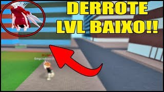 LOW LEVEL SHAPE DEFEAT EASY ETO IN RO-GHOUL (ROBLOX)