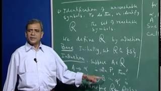 Mod-01 Lec-23 Towards Chomsky normal forms: elimination of useless symbols