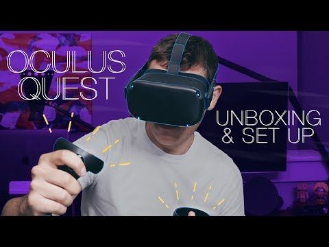 Oculus Quest Unboxing, Set-Up, and First Impressions