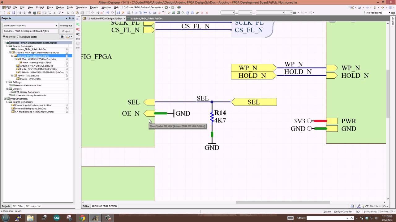 Building the Arduino-FPGA Shield Part 4: SPI Multiplexing, SRAM
