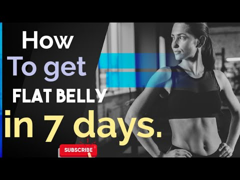 How to reduce belly fat | for men and women| Easy home treatment
