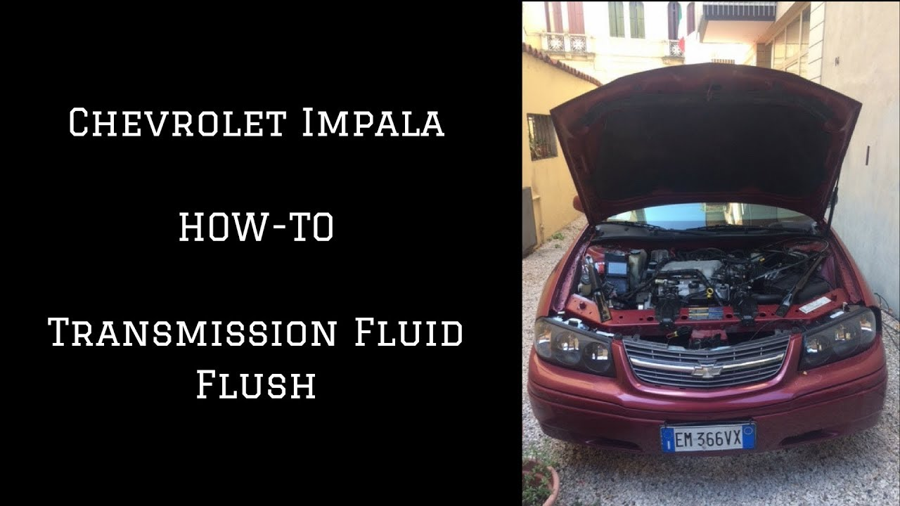 how to do a transmission fluid flush on a chevrolet impala  motor head