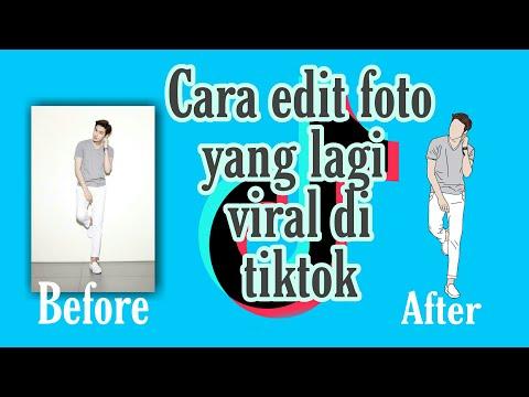 Cara Edit Foto Yang Lagi Viral Di Tiktok